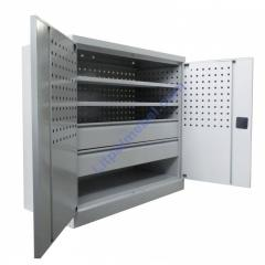Инструментальный металлический шкаф Swm 543-2V