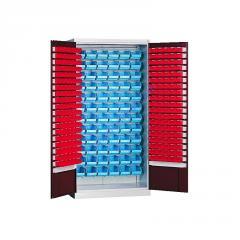 Метизный металлический шкаф для мастерской Swm 205