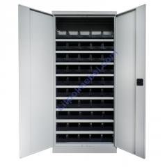 Метизный металлический шкаф для мастерской Swm 701-1