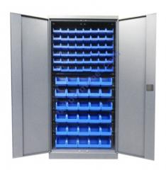 Метизный металлический шкаф для мастерской Swm 701-2