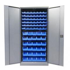 Метизный металлический шкаф для мастерской Swm 702-2