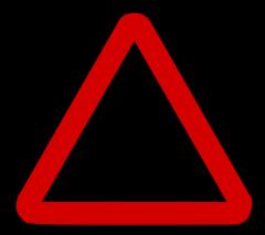 """Предупреждающий знак """"Железнодорожный"""