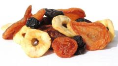 Allsorts from dried fruits