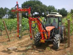 Машина для чеканки виноградников DE800В (3+2+3)