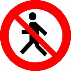 Indicator de interzicere sau restrictie