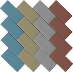Плитка Pavaj Caramida color 40mm