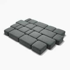 Плитка Pavaj Bruc Sur, Cu Grosimea 2.5 Cm