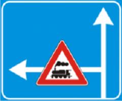 Указательный знак Предупреждение, запрещение или