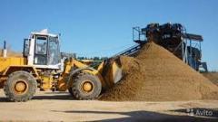 Песок Nisip pentru producerea betonului
