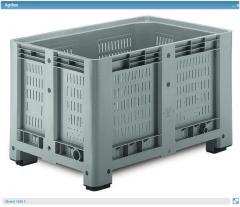 Пластиковый контейнер для хранения и перевозки