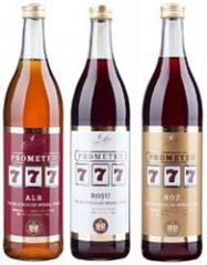 Fortified wines of Prometeu 777 (Screw of 0,7 L