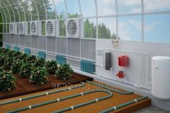 Системы отопления для теплиц