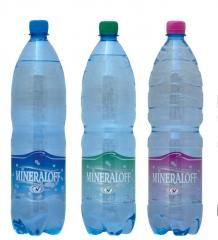 The drinking purified water-MINERALOFF