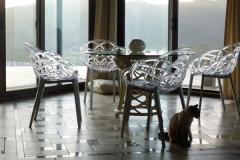 Кресло из поликарбоната Flora