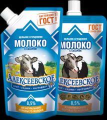 Сгущенное молоко  (650гр) с доз. Алексеевское, АМКК
