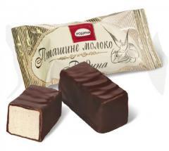 Конфеты,  Bomboane de ciocolata Pticie...