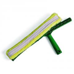 Инвентарь для мытья окон с держателем с абразивной шубкой, 35cm
