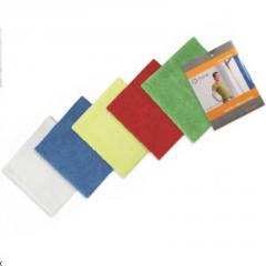 Салфетка микроволокно универсальная, желтая, 32x32, mopatex