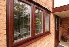 Пластиковые окна вишня