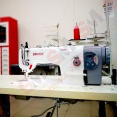 Швейная машина для тяжёлых материалов с двойным