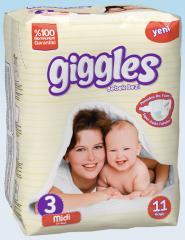 Подгузники Giggles стандартная упаковка Миди 5-9