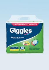 Подгузники для взрослых Giggles Eco упаковка...