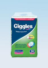 Adult diapers Jumbo Giggles packing 85-125 cm 30