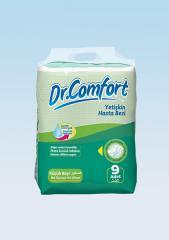 Подгузники для взрослых Dr.Comfort стандартная упаковка 50-85 cm 9 Штук