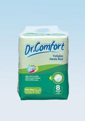Подгузники для взрослых Dr.Comfort стандартная упаковка 85-125 cm 8 Штук