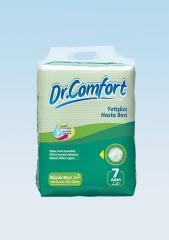 Подгузники для взрослых Dr.Comfort стандартная упаковка 100 - 150 cm 7 Штук