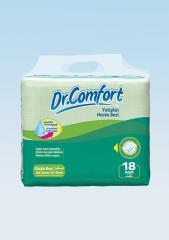 Подгузники для взрослых Dr.Comfort Eco упаковка 50-85 cm 18 Штук