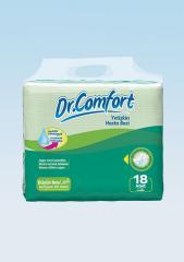 Подгузники для взрослых Dr.Comfort Eco упаковка 100 - 150 cm 18 Штук