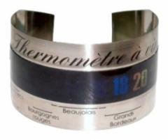 Цифровой винный термометр -9 + 65 ° C, на бутылке