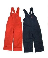 The semi-overalls are children's