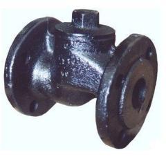 Обратный клапан чугун Ру 16 фланцевый