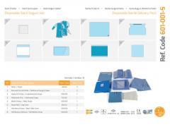 Одноразовый стерильный комплект поставки