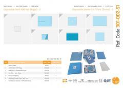 Одноразовый стерильный ENT-пакет (горло) - 2