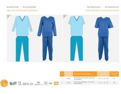 Personel 2 için Non Steril giyim