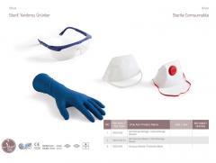 Стерильная комбинированная защитная маска