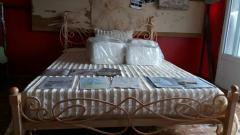 Wrought-iron bed in Moldova