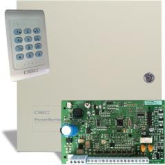 Панель охраны PC 1404 (+ бокс и клавиатура PC1404RKZ)