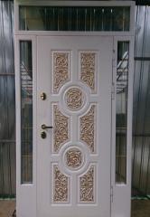 Входная дверь Коттедж вариант 5