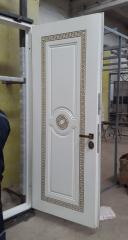 Входная дверь Коттедж вариант 7