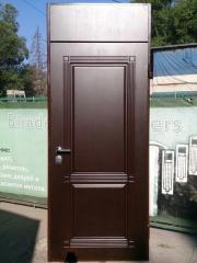 Входная дверь Коттедж вариант 9