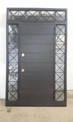Входная дверь Коттедж вариант 10