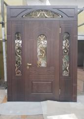 Входная дверь Коттедж вариант 13