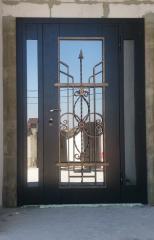 Входная дверь Коттедж вариант 14