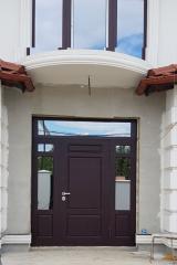 Входная дверь Коттедж вариант 15