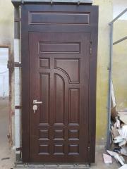 Входная дверь Коттедж вариант 17