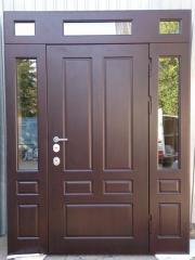 Входная дверь Коттедж вариант 18